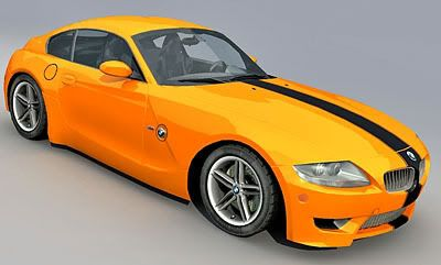 BMW Z4 Coupe 3d model