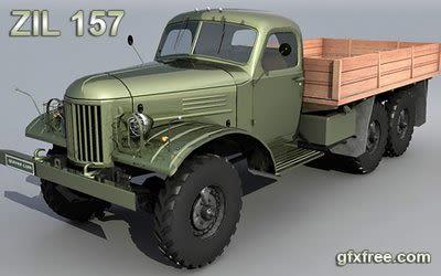 ZIL 157 3d model