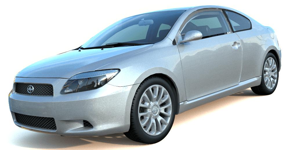 Scion tC 3d model