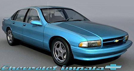 Chevrolet Impala 1995 3d model