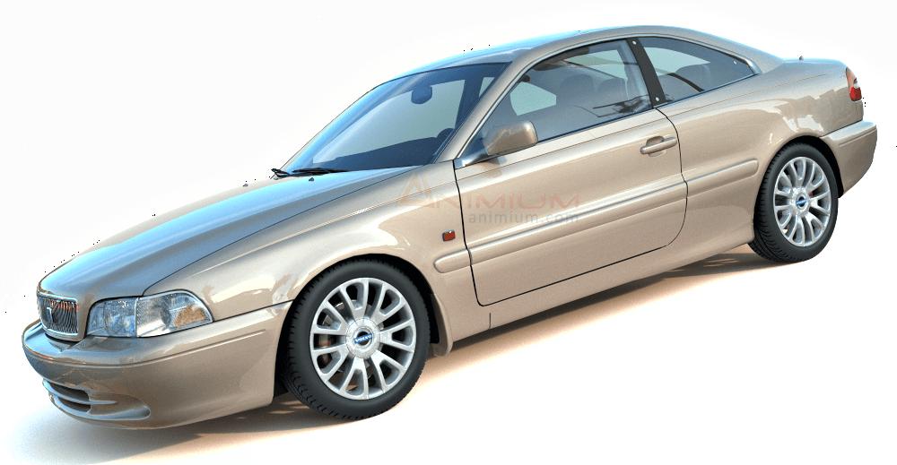 1999 Volvo C70 3d model