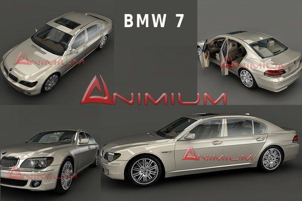 BMW 7 3d model