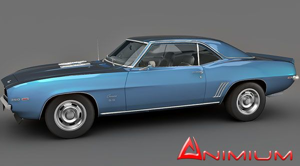 Chevrolet Camaro SS350 3d model