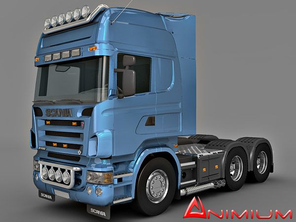 Scania R520 truck