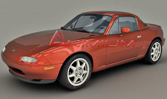 Mazda MX-5 Miata 3d model