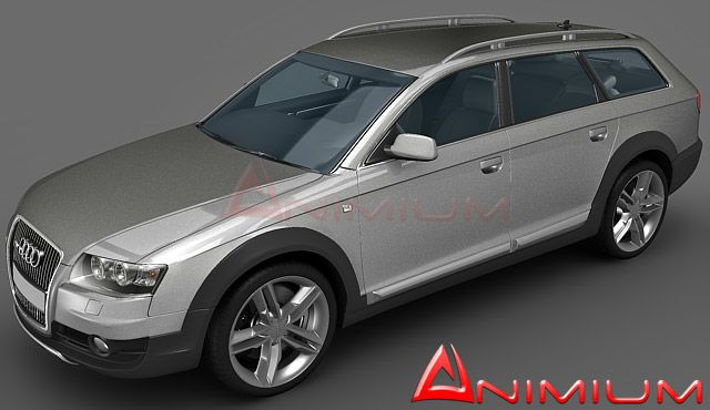 Audi Allroad Quattro 3d model