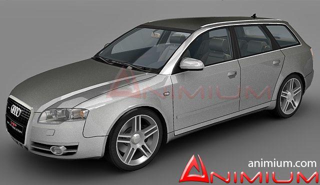 Audi A4 Avant 3d model