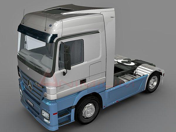 Benz Actros truck
