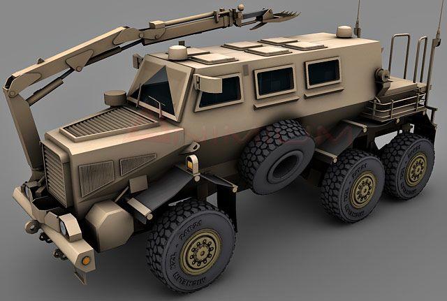 Buffalo MRAP Vehicle