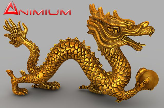 Chinese Dragon UVW