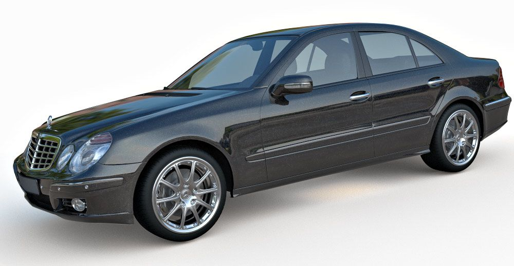 Mercedes Benz E-Class W211 3d model