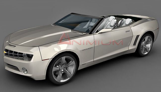 Chevrolet Camaro Convertible 3d model