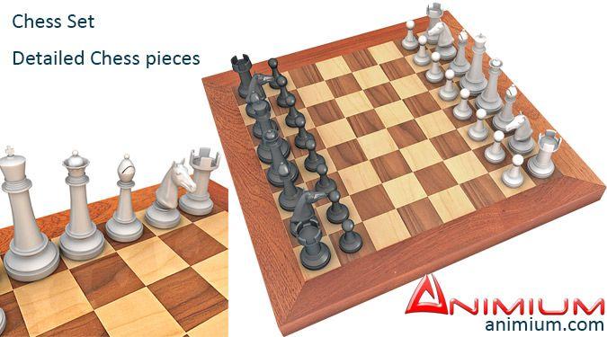 Chessboard 3d model