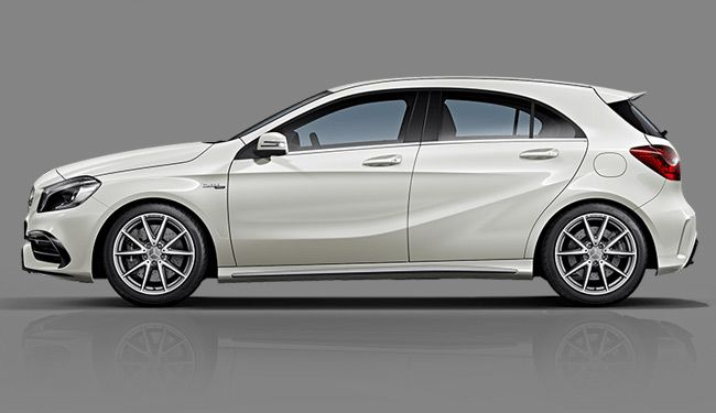 Mercedes Benz A45 AMG 3d model – Animium 3D Models