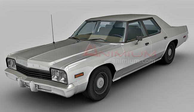 Dodge Monaco 3d model