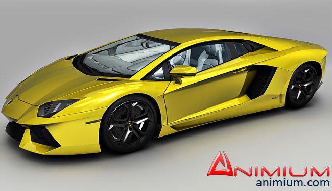Lamborghini Aventador LP720 3d model