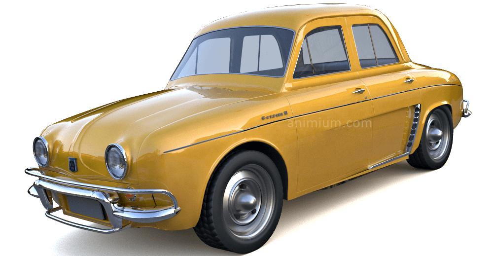Renault Gordini 3d model