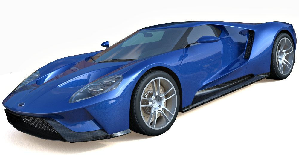 2017 Ford GT 3d model