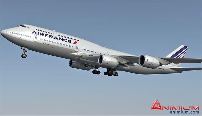 Boeing 747-800 3d model
