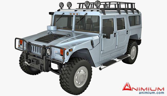 Hummer H1 3d model