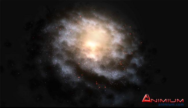Galaxy 3d model