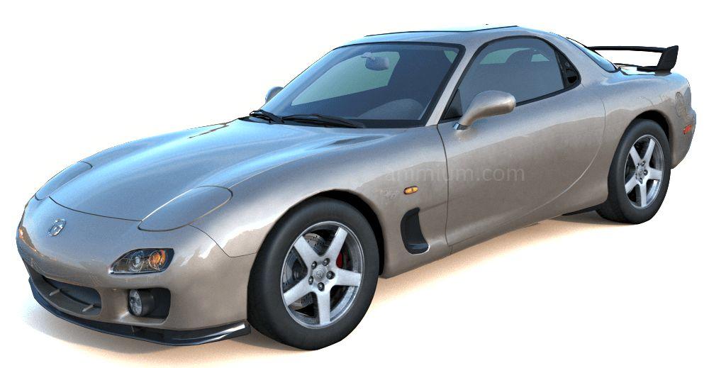Mazda RX7 3d model