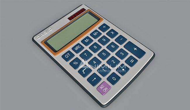 Calculator 3d model