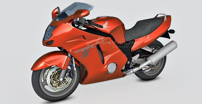 Honda CBR1100XX 3d model