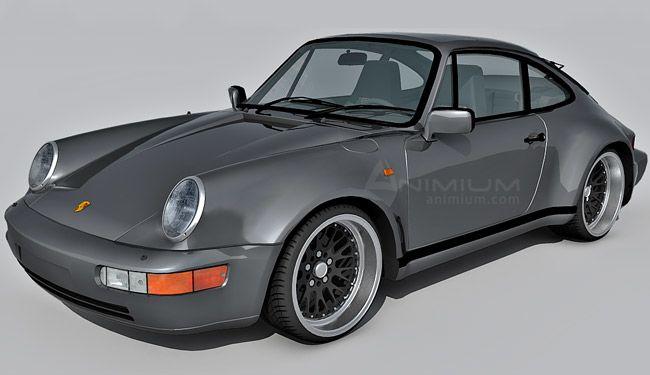 1983 Porsche 911 3d model