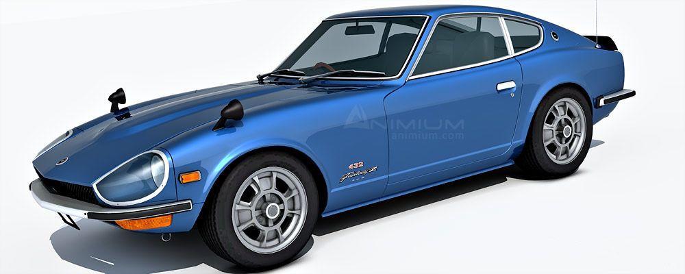 Nissan 240Z 3d model