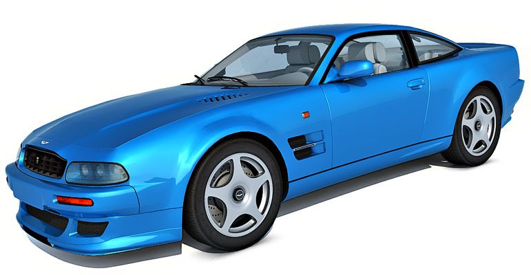 Aston Martin V8 Vantage V600 3d model