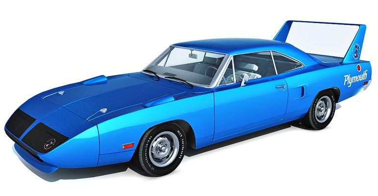 Plymouth Superbird 3d model