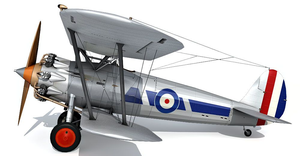 Bristol Bulldog 3d model