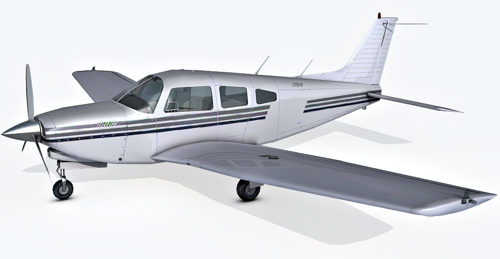 Piper Arrow III 3d model