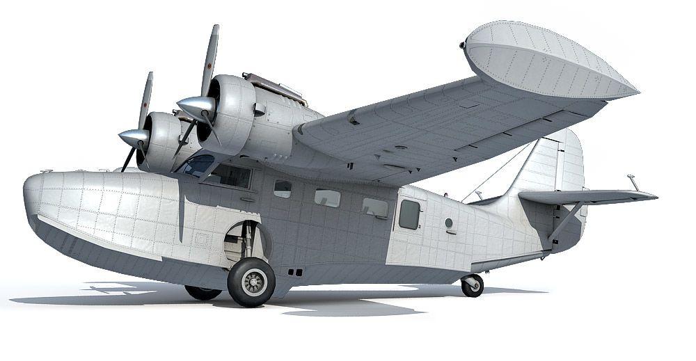 Grumman G-21 Goose 3d model