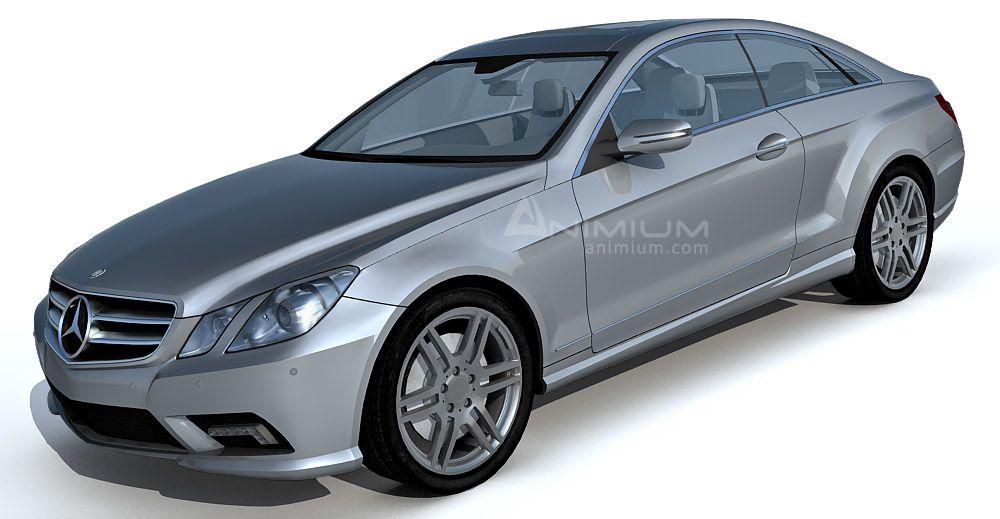 Mercedes Benz E500 3d model