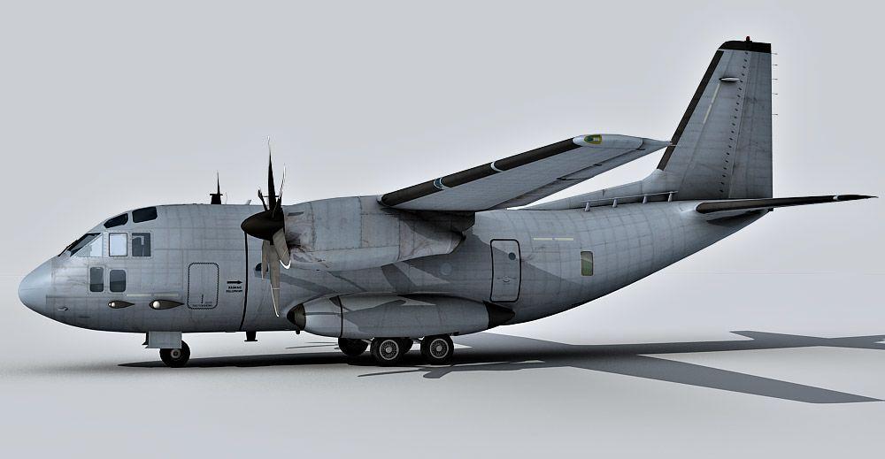 C-27J Spartan 3d model