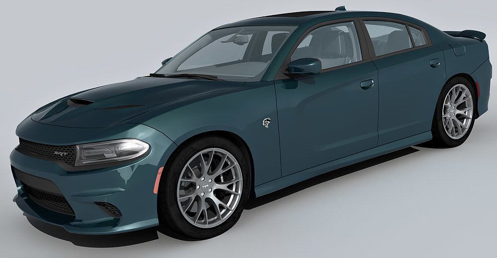 Dodge Charger Hellcat 3d model