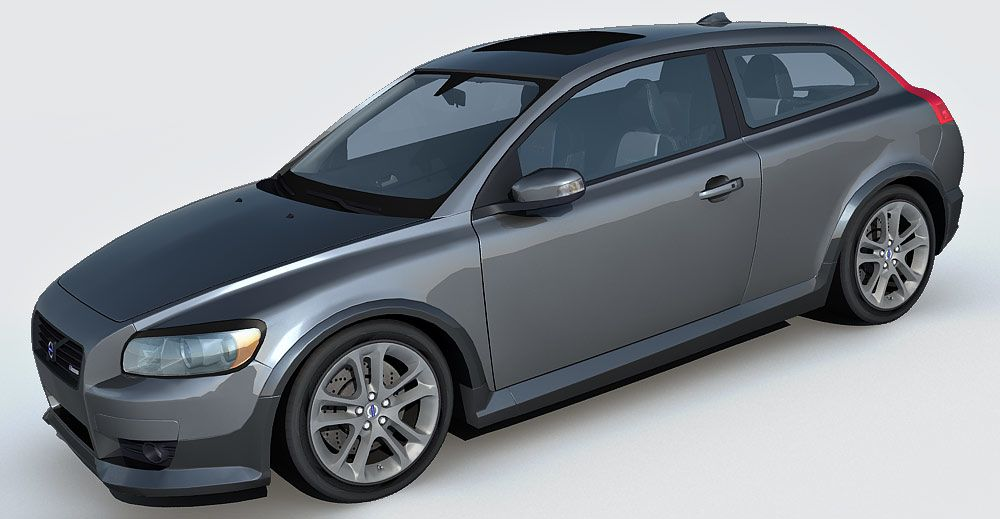 Volvo C30 3d model