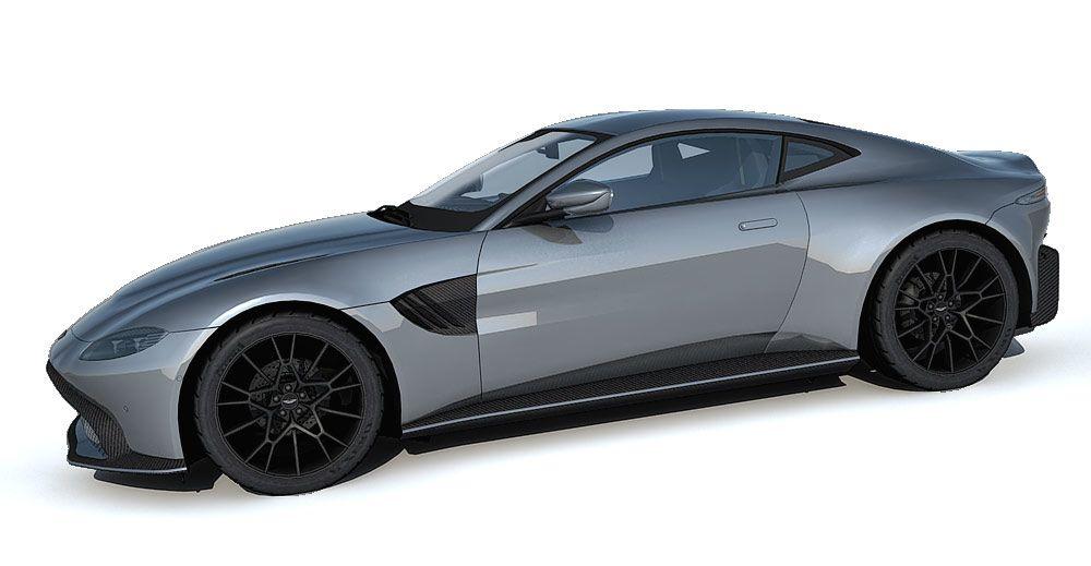 Aston Martin Vantage AMR 59 3d model