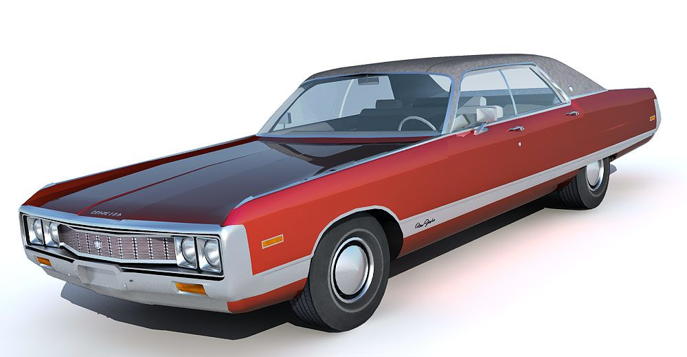 Chrysler New Yorker 3d model
