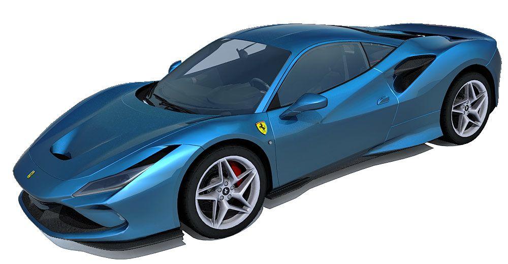 Ferrari F8 Tributo 3d model