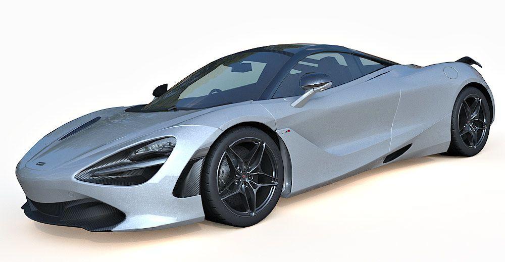 McLaren 720S 3d model