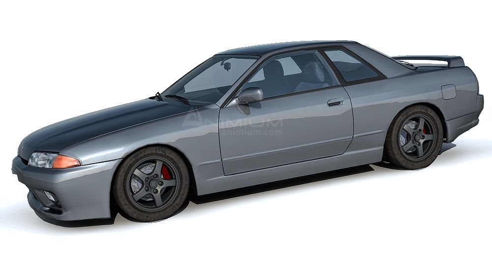 Nissan Skyline R32 3d model