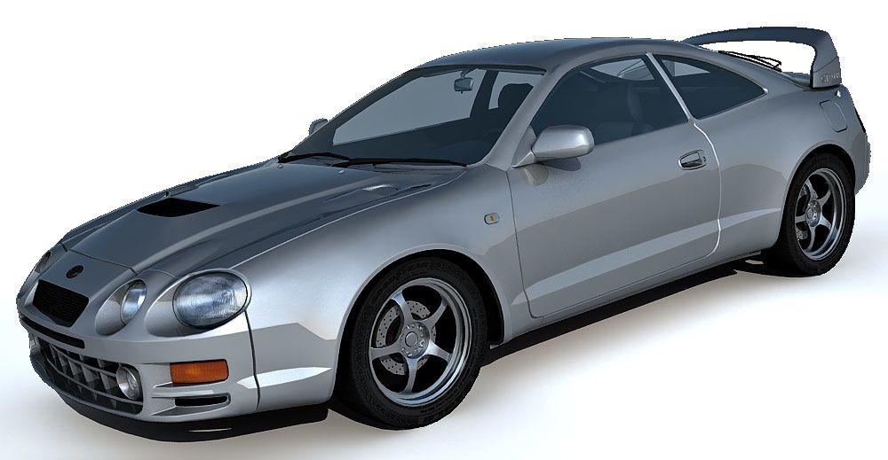Toyota Celica GT4 3d model