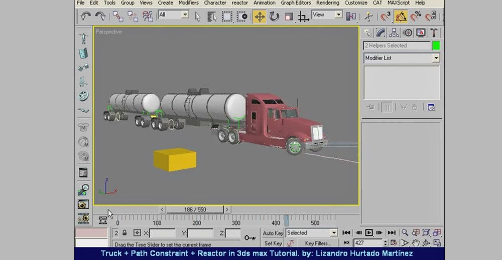 Vehicle Rigging Tutorials in 3ds Max