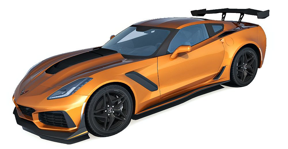 Chevrolet Corvette ZR1 3d model