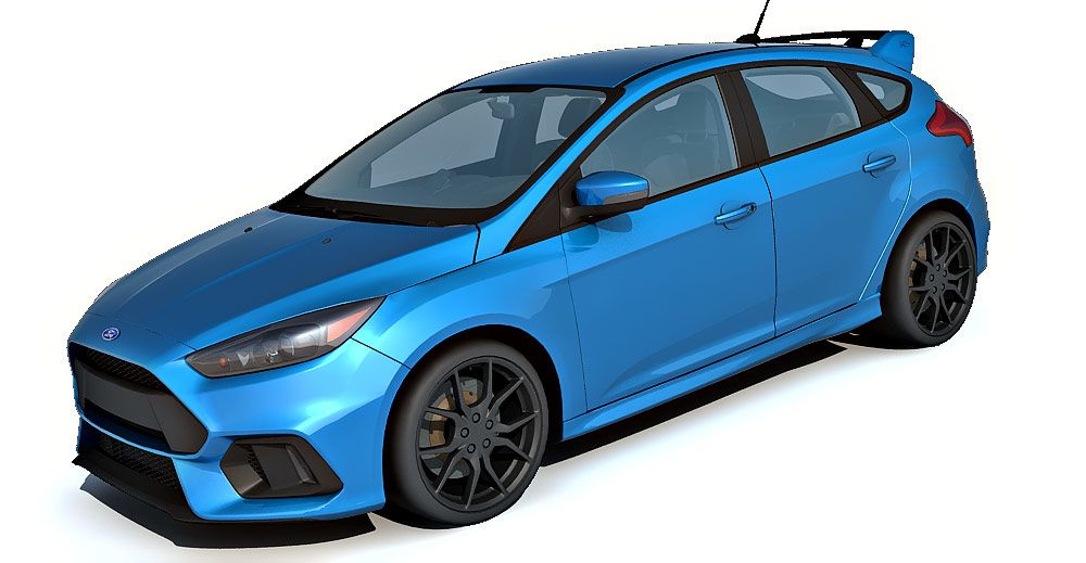 Ford Focus RS 3d model