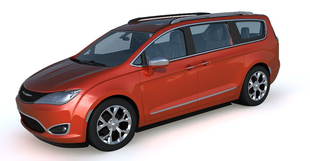 Chrysler Pacifica 3d model