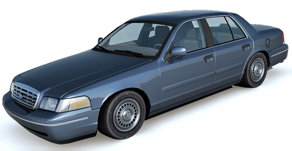 Ford Crown Victoria 3d model